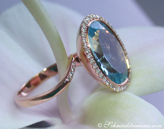 terrific blue topaz diamond ring juwelier. Black Bedroom Furniture Sets. Home Design Ideas