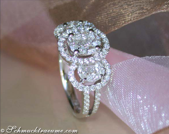 Ring Ovale Diamant
