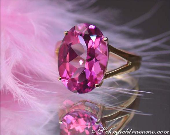 wonderfully luminous pink topaz ring juwelier. Black Bedroom Furniture Sets. Home Design Ideas